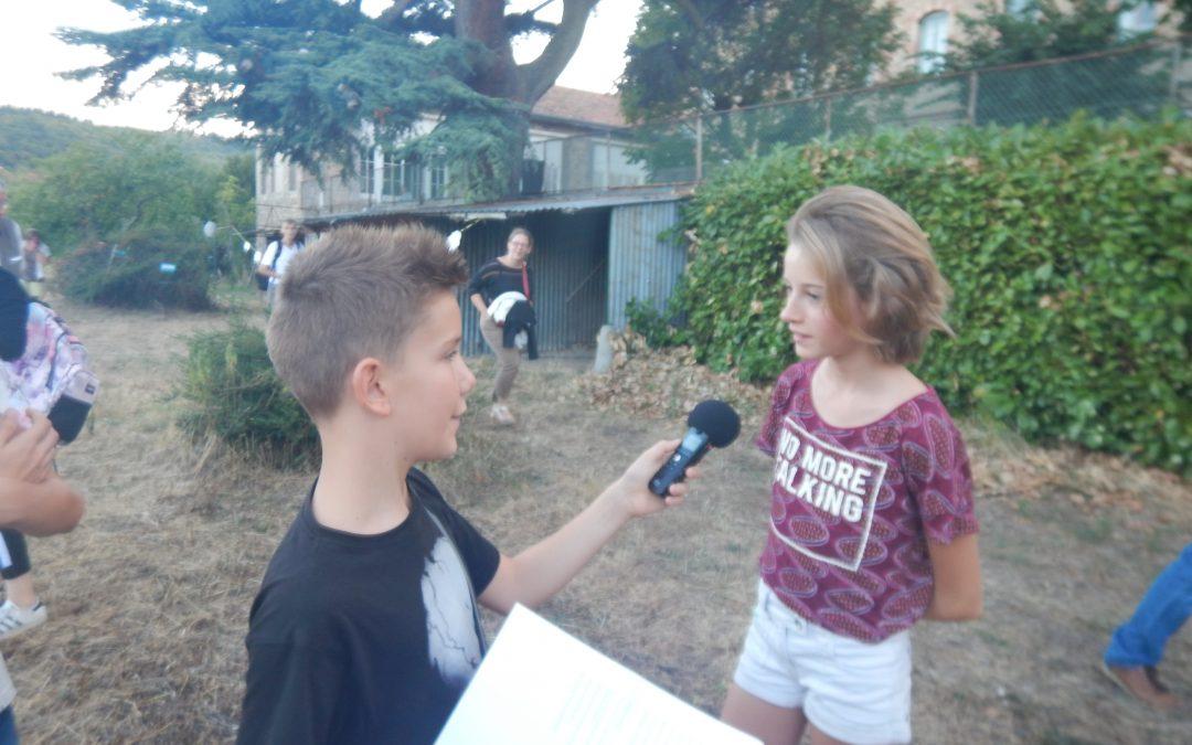 Interviews des jeunes pendant les Bravos de la nuit